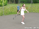 Brazzers - Tenis threesome, everyone wins